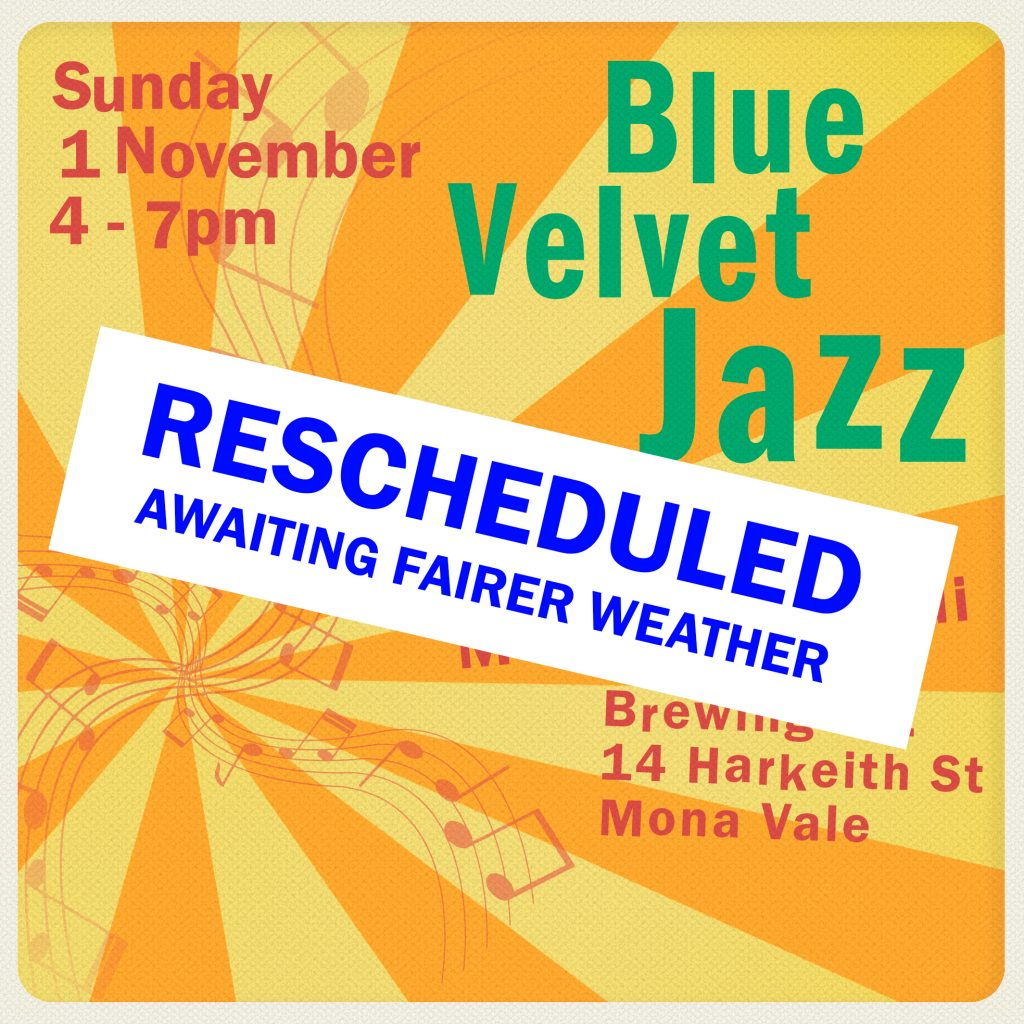 jazz gig rescheduled
