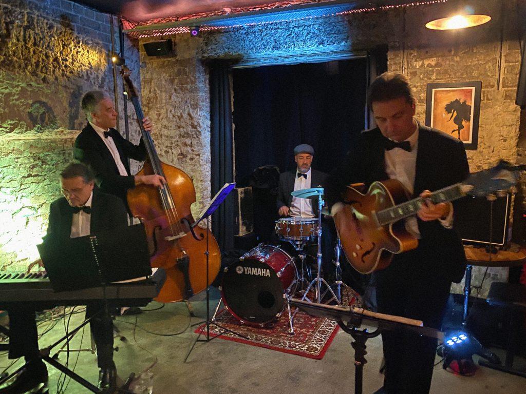 Blue Velvet Jazz band playing live in sydney venue